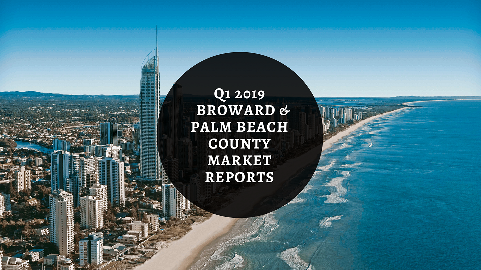We Are Pleased To Provide You With This Copy Of Berger Commercial Realty Corp.'s 2019 Q1 Broward And Palm Beach County Market Reports For The Office And Industrial Real Estate Markets