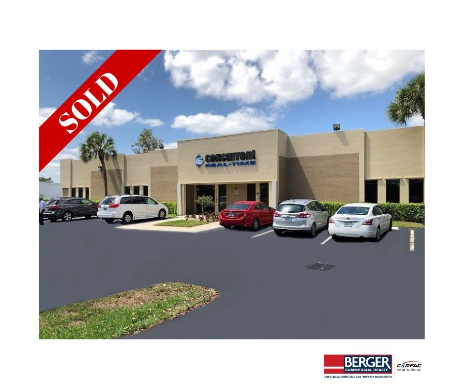 Berger Commercial Realty Brokers $3.55 Million Sale Of Concurrent Building In Pompano Beach
