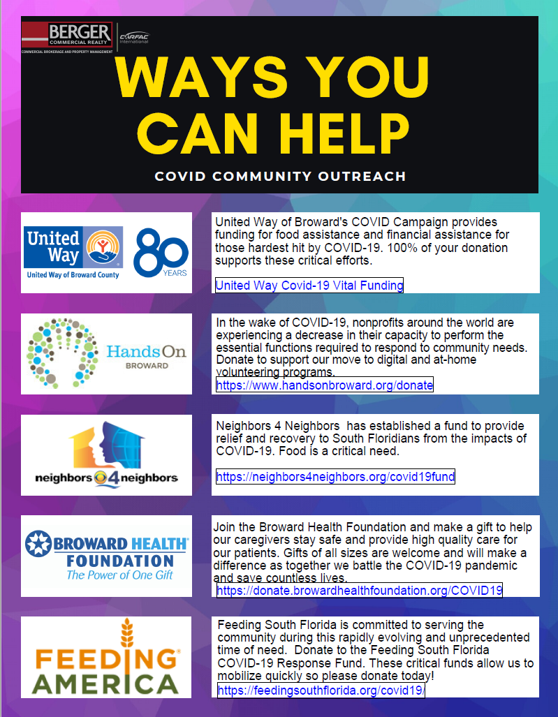 Ways You Can Help Your Community During The COVID-19 Crisis