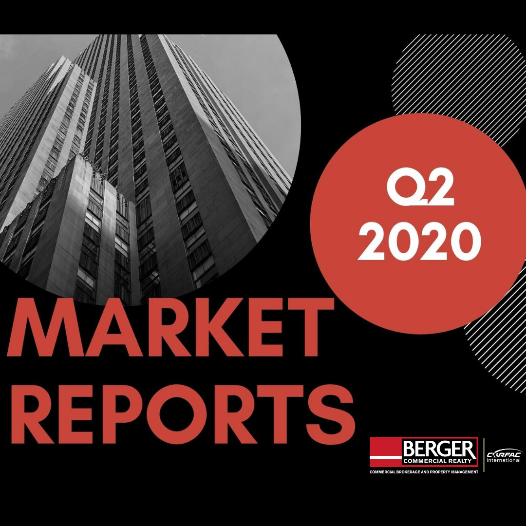 We Are Pleased To Provide You With This Copy Of Berger Commercial Realty Corp.'s  Q2 2020 Broward And Palm Beach County Market Reports
